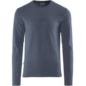 E9 Scar Longsleeve Shirt Men blue